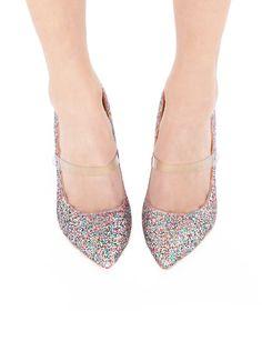 Glitter Pointed Heels - High Heels - Cheap Heels - $86
