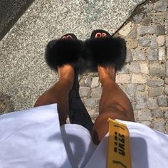 All Eyes On Your Shoes 👀✖️The Black Chyna Fur Slides as seen on @goksuceey 🖤👉🏻 hauteacorn.com ...#furslides #fluffyslides #furshoes #fursandals #furflipflops #instalike #instagood #slides #furslippers #slippers #sandals #shoes #indoor #outdoor #realfur Fluffy Sandals, Fluffy Shoes, Black Chyna, Fox And Rabbit, Cute Slippers, Fur Accessories, Mink Fur, Fur Slides, Fox Fur