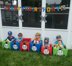 Thomas The Train Engine and Friends Ride In Toys - Perfect for a Train Party Games