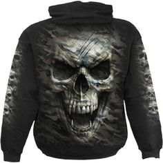 JJCat Mens Hooded Long Sleeve 3D Digital Print Halloween Horrible Bleeding Baby Hoodies Couple Pullover Hoodies