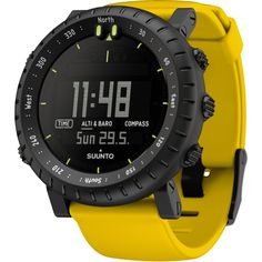 Suunto Core Wrist-Top Computer Watch with Altimeter, Barometer, Compass, and Depth Measurement by Suunto - deal for dummies Cool Watches, Watches For Men, Wrist Watches, Dream Watches, Men's Watches, Watches Online, Hiking Gear List, Top Computer, Style Masculin