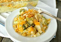 Chicken Broccoli Rice Casserole  -- will give it a try for the kids later