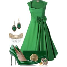 """""""Emerald"""" by josi-d on Polyvore  Love It"""