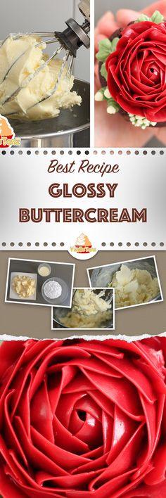 Die beste Buttercreme zum Blumenspritzen und Flowercakes! Schnell, einfach und wenig hitzeempfindlich! Probiere es aus und mache den Unterschied zu anderen Buttercremes!