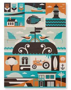 'Far North' Limited Edition Oversized Wood print. – Greg Straight Shop