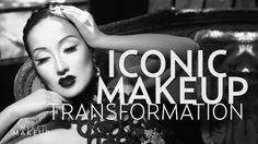Old Hollywood Black and White Makeup Tutorial of Merle Oberon Makeup Blog, Love Makeup, Makeup Looks, Makeup Ideas, Simple Makeup, Awesome Makeup, Pretty Makeup, Makeup Tutorials, Makeup Inspo