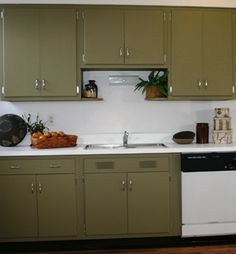 Awesome Metal Kitchen Cabinet Makeover