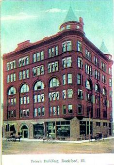 Brown Building, Rockford, Ill./Illinois National Bank Bldg??