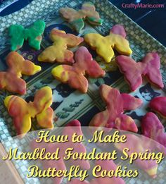 Make Butterfly Cookies for Spring