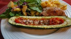 Grilled Zucchini Boats - Mennonite Girls Can Cook