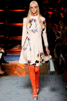 #MiuMiu #Spring2014 #Catwalk #trends #ParisFafhionWeek #Paris #SS2014 #animals