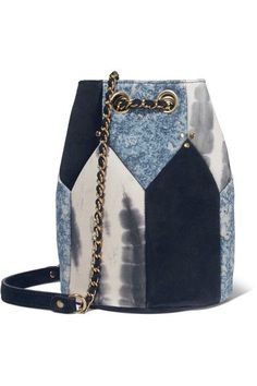 Jérôme Dreyfuss | Popeye medium paneled leather bucket bag | NET-A-PORTER.COM
