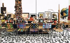 A Look Inside The Homes Of 5 Acclaimed Fashion Designers: DVF's Meatpacking Penthouse