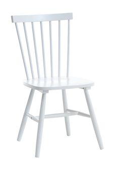 Ruokapöydän tuoli LANGDAL valkoinen | JYSK