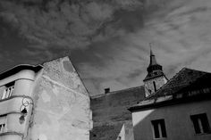 Iulia K.'s blog: The city, Brasov, Romania Brasov Romania, Artistic Photography, Monochrome, Louvre, City, Building, Artwork, Blog, Travel