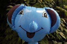 Our lovely Elephant  #dumbo #balloon #big ears #fun #birthday #safari #africa #gifts #elephant www.lankylongloons.co.uk