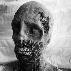 Zombie finished black and white