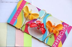Funky Paperclips- Dainty Butterfly (Set of 3) Book Gem http://www.amazon.com/dp/B0108SWM86/ref=cm_sw_r_pi_dp_KSL6vb036XKCB