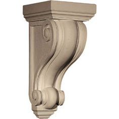 Resin Corbels, Decorative Resin Corbels, Resin Shelf Corbels, Smooth Resin Corbels, Composite Corbels -- Resin Corbels -- by Architectural Depot - Call us today at: 888-573-3768