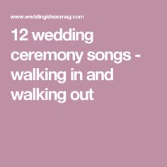 30 processional songs that will have the groom in tears | Pinterest ...