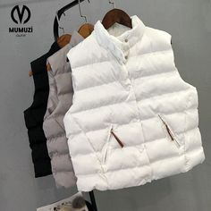 New 2017 autumn and winter women down vest white duck down soft warm waistcoat  XL female outwear brand vest coat