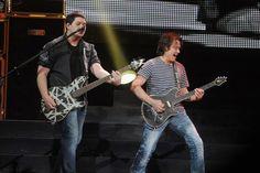 Eddie Van Halen and his son - Wolfgang