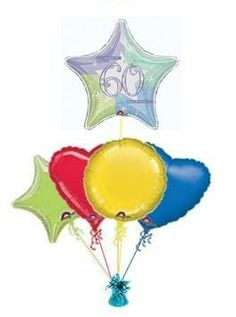 """Put a smile on their face with a unique :Shimmer"""" birthday balloon. Send birthday balloons in a box. Wonderful helium filled balloons in a box. 60th Birthday Balloons, 21st Birthday, Helium Filled Balloons, Balloon Delivery, Unique Presents, Chocolate Gifts, The Balloon, 50th, 21st Birth"""