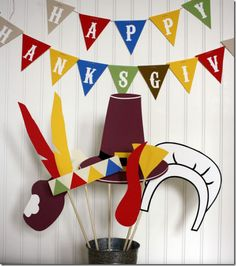 thanksgiving family photo ideas booth