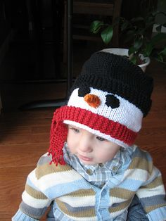 Ravelry: Free Patterns for Knitters Knitting Hats, Knitting Ideas, Knitting Patterns Free, Knit Patterns, Free Knitting, Baby Knitting, Crochet Kids Hats, Crochet Beanie, Crochet Ideas