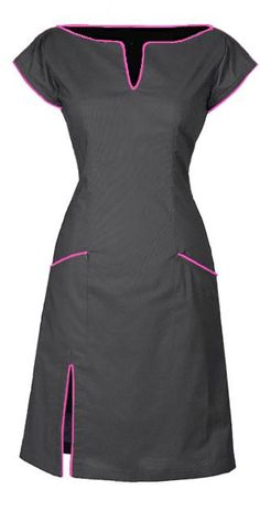 CONNIE - GREY. http://ecouture.dk/coco-red-2781.html?___store=gb&___from_store=gb DRESS IN ORGANIC COTTON The dress is made from 100% organic, cotton [GOTS-certified] with an elasticated panel at the back and side zipper to make it more flexible. The dress is lined with a very comfortable bamboo-silk.