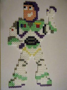 Buzz Lightyear Toy Story hama beads by franzik123