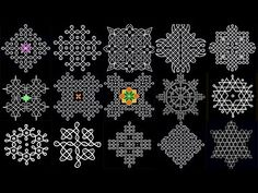 Simple and Beautiful Sikku Indian Rangoli Designs, Rangoli Designs Flower, Rangoli Border Designs, Rangoli Ideas, Rangoli Designs With Dots, Flower Rangoli, Rangoli With Dots, Beautiful Rangoli Designs, Simple Rangoli