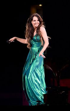 .Our Angel of Music dancing in green!! Beautiful!!!