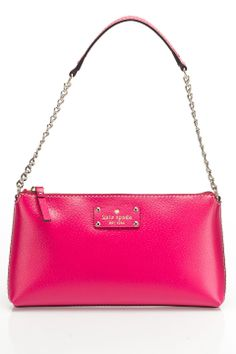 Kate Spade Wellesley Byrd Handbag in Deep Pink - Beyond the Rack