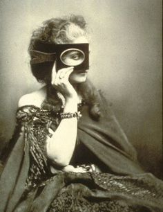 """The Countess de Castiglione    """"A full-blown 19th-century narcissist with unlimited access to a camera. From 1856 to 1895, she had more than 400 photographs of herself.  And she did not sit quietly and leave it up to the photographer, Pierre-Louis Pierson, to decide the pose. She called the shots."""""""