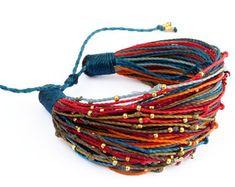 Items similar to Orange Teal Multicolor String Bracelet – Handmade Multi Strand Bracelet - Cord Bracelet – Friendship Bracelet – Boho Chic - Adjustable on Etsy - Bracelets Strand Bracelet, Macrame Bracelets, Handmade Bracelets, Handmade Jewelry, Diamond Bracelets, Fabric Jewelry, Beaded Jewelry, Organizer Box, Bracelet Tutorial