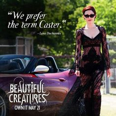 We prefer the term Caster. Beautiful Creatures Quotes, Ethan Wate, Creature Movie, Morganville Vampires, Anna And The French Kiss, The Spectacular Now, Kami Garcia, Creatures 3, Beautiful Series