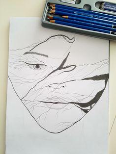 Drawing#women#eye#