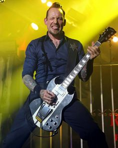 "Michael Poulsen on Instagram: ""I'm today really good lolhope you're well! And hope you had, or you will have a good day❤  #michaelpoulsen #volbeat"""