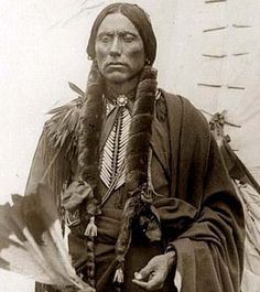 Quanah Parker, the last major chief of the Comanche Indians. He was born in 1845, near Wichita Falls, Texas and died Feb. 23, 1911, near Fort Sill, Okla. He was an aggressive Comanche leader who mounted an unsuccessful war against white invaders in southeast Texas (1874-75); he later became the main spokesman and peacetime leader of the Indians in that area, a role he performed for 30 years. - Crystalinks