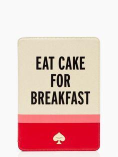eat cake for breakfast ipad air. totally buying when I buy my iPad air soon!!!
