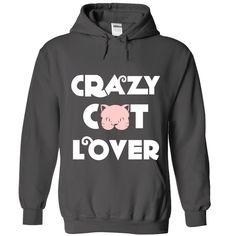 (Tshirt Coupon Today) Crazy Cat Lover at Tshirt Family Hoodies, Tee Shirts