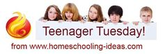 Get homeschooled ideas for your teenager delivered to your inbox every Tuesday!