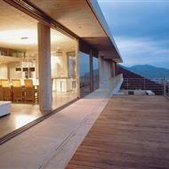 View of the interior and exterior space, Vacation residence in Monemvasia Aggelidi Mariza, Gialta Lila, Papadakis Panagiotis