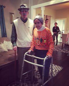 Old people Halloween costume