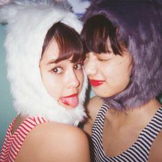 「えまななうさぎ」が可愛すぎる動画! emma&小松菜奈がおしゃれコスしました♡|NET ViVi|講談社『ViVi』オフィシャルサイト
