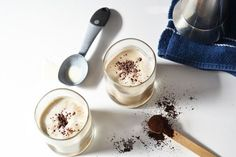 This delicious caffeinated treat is known as an affogato. Although this is meant for dessert, it's time to break the rules! Start the day off with this delectable treat. Fun Drinks, Yummy Drinks, Yummy Food, Beverages, Coffee Is Life, I Love Coffee, New Recipes, Sweet Recipes, Favorite Recipes