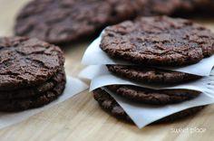 Mocno czekoladowe ciasteczka | Sweet Place