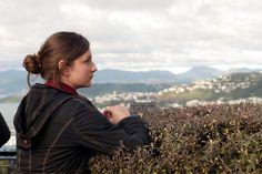a girl in Wellington, New Zealand