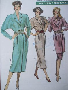 See Sally Sew-Patterns For Less - Easy Dress Tunic Skirt Vogue 7010 Fashion Pattern Sz. 20 - 24, $9.00 (http://stores.seesallysew.com/easy-dress-tunic-skirt-vogue-7010-fashion-pattern-sz-20-24/)